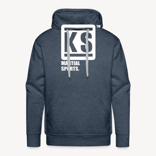 ks martial sport - Sweat-shirt à capuche Premium pour hommes