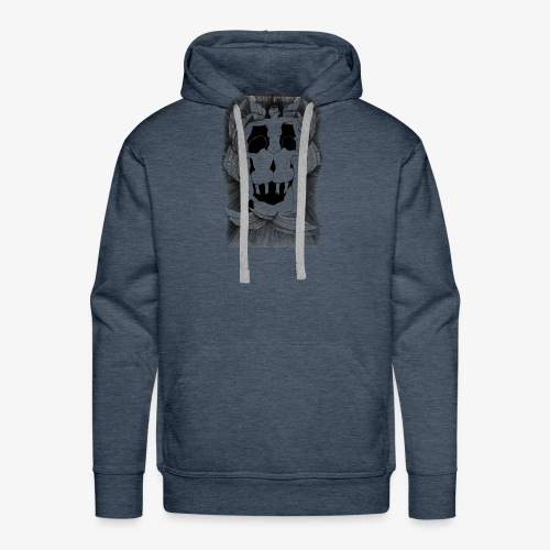 Fallen angels summoning the old samurai - Men's Premium Hoodie