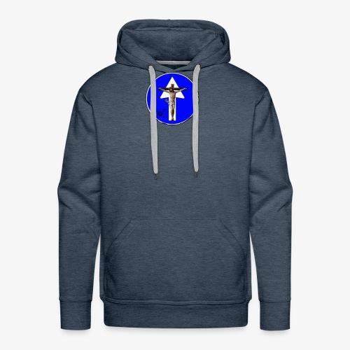 Gesù - Felpa con cappuccio premium da uomo