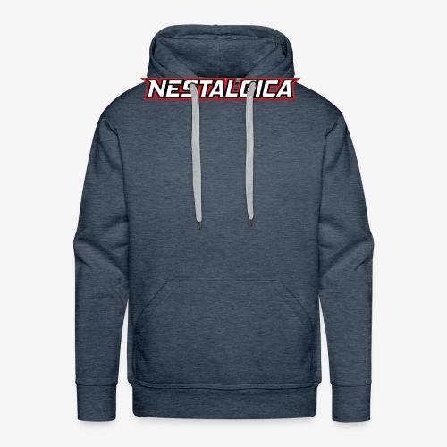 Nestalgica Logo - Men's Premium Hoodie