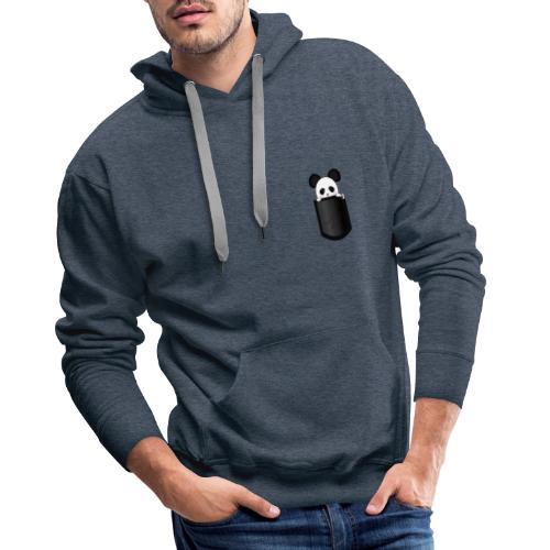 Panda - Sweat-shirt à capuche Premium pour hommes