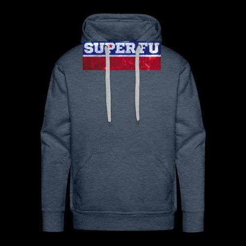 SUPER FU - Männer Premium Hoodie