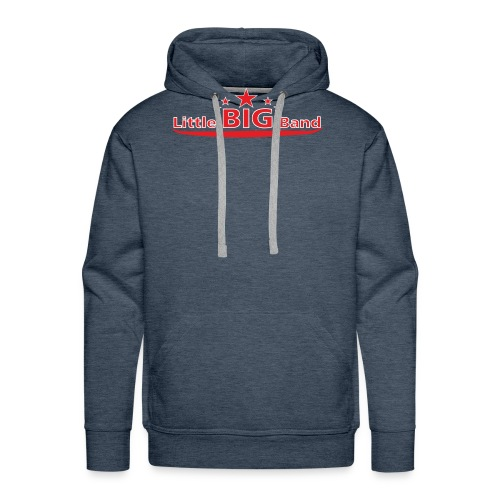T Shirt rot-weisse Schrift - Männer Premium Hoodie