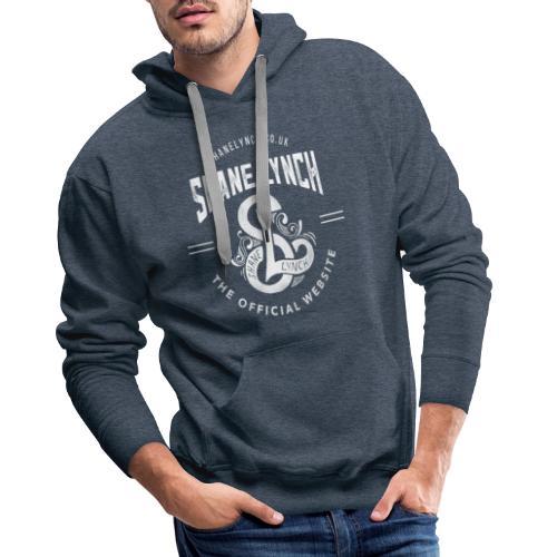 White - Shane Lynch Logo - Men's Premium Hoodie