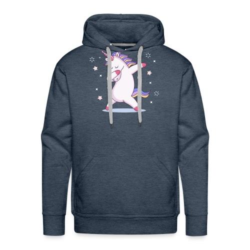 kids unicorn dab - Männer Premium Hoodie