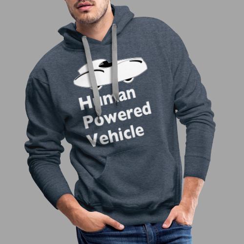 Quattrovelo Human Powered Vehicle white - Miesten premium-huppari