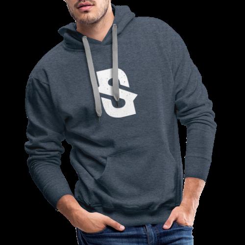 Sjammienators S White - Mannen Premium hoodie