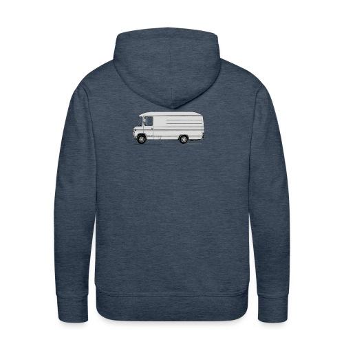 MB508 lang hoog - Mannen Premium hoodie