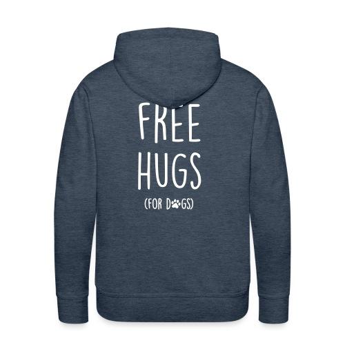 Vorschau: free hugs for dogs - Männer Premium Hoodie