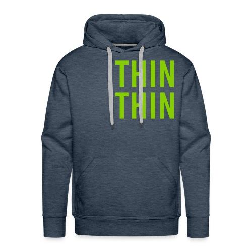 Logo Thinks Thinking WHIT - Männer Premium Hoodie