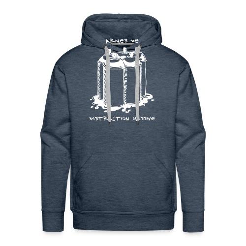 armes_de_distraction_massive - Sweat-shirt à capuche Premium pour hommes