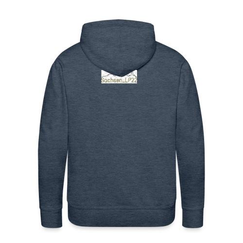 Sachsen_LP22 LOGO - Männer Premium Hoodie