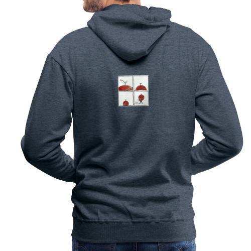 Fathers Days - Sweat-shirt à capuche Premium pour hommes