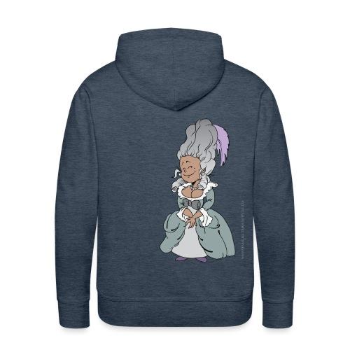 Happy Antoinette - Sweat-shirt à capuche Premium pour hommes