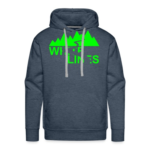 White Lines v3 - Männer Premium Hoodie