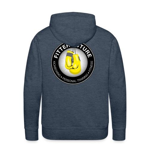 Fitter Future logo - Mannen Premium hoodie