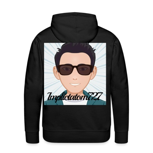 Implictatom727 Official Iconic Profile Pic. - Men's Premium Hoodie