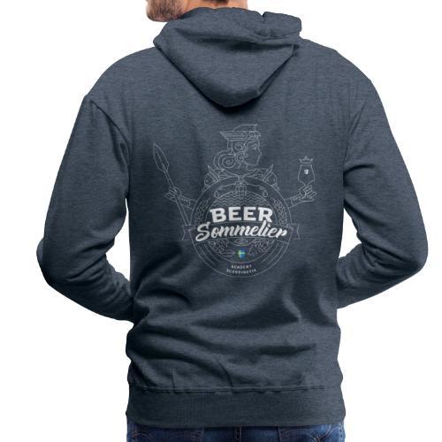 Swedish Beer Sommelier - Valkyrie white - Premiumluvtröja herr