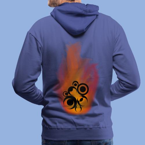 Should I stay or should I go Fire - Sweat-shirt à capuche Premium pour hommes