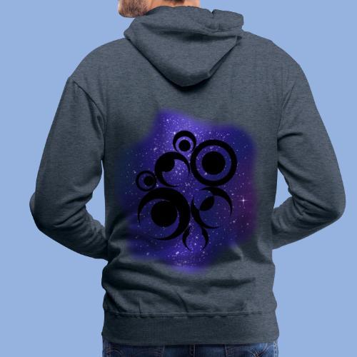 Should I stay or should I go Space 2 - Sweat-shirt à capuche Premium pour hommes