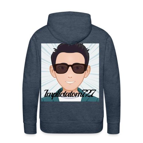 Implictatom727 Official Iconic Profile Pic. - Men's Premium Hoodie