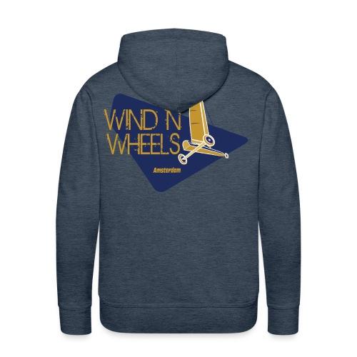 logobluegoldww big png - Mannen Premium hoodie
