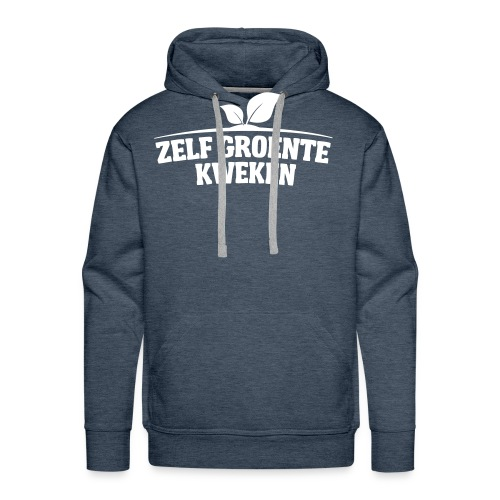 logo5 - Mannen Premium hoodie