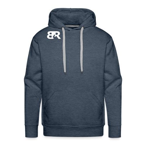 BR LOgo voor op truien png - Mannen Premium hoodie