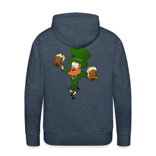 irish dancer - Sweat-shirt à capuche Premium pour hommes