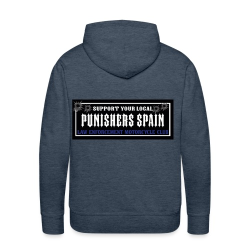 support your local pegatina - Sudadera con capucha premium para hombre