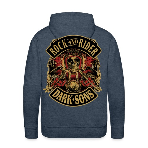 Dark sons - Sudadera con capucha premium para hombre