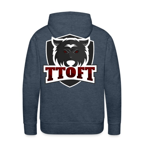 TTOFT MERCH - Herre Premium hættetrøje