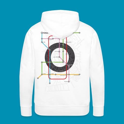 Underground Oristano 2020 - Felpa con cappuccio premium da uomo