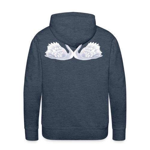 Swan hearts - Premiumluvtröja herr