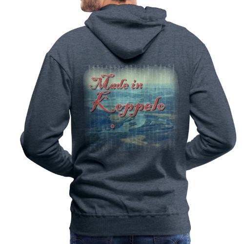 Made in Koppelo lippis - Miesten premium-huppari