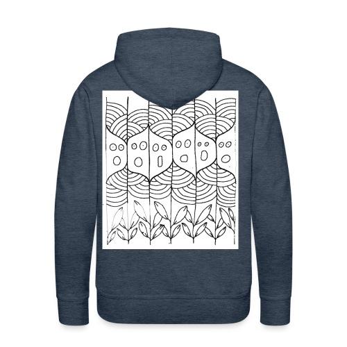 lachoraletetarbre - Sweat-shirt à capuche Premium pour hommes