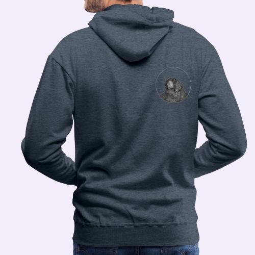 Tendo klein auf der Schulter - Männer Premium Hoodie