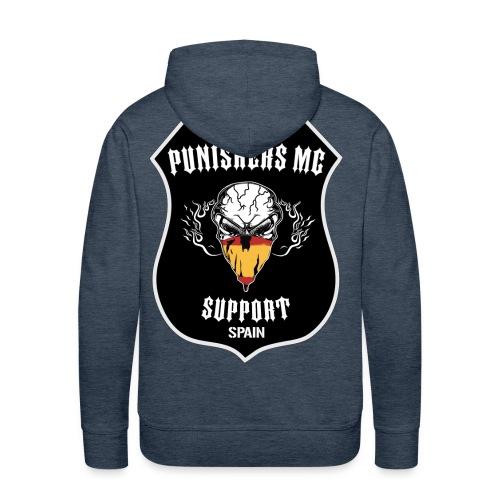 punishers support - Sudadera con capucha premium para hombre