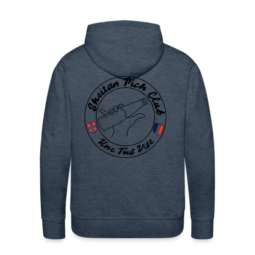 logo2 - Sweat-shirt à capuche Premium pour hommes