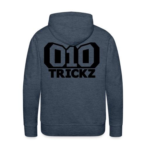 logo zwart wit - Mannen Premium hoodie