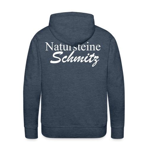 natursteineschmitz - Männer Premium Hoodie