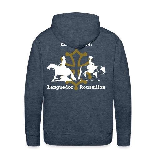 AREW Languedoc Roussillon - Sweat-shirt à capuche Premium pour hommes