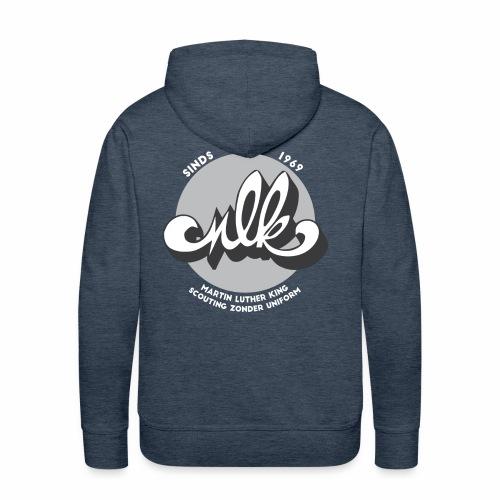 MLK scouting 50 jaar - wit - Mannen Premium hoodie