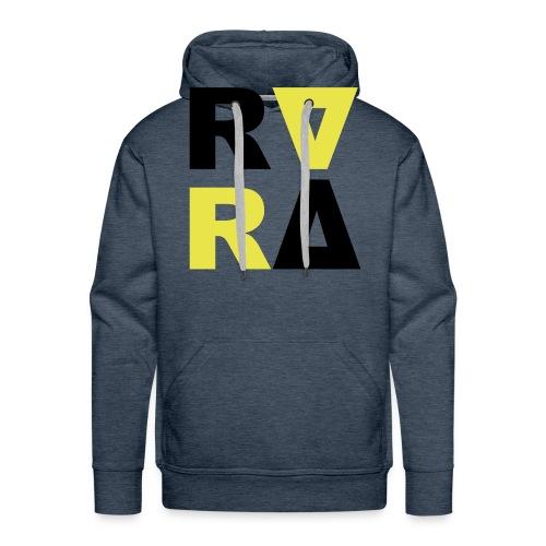 rira logo2 schwarz - Männer Premium Hoodie