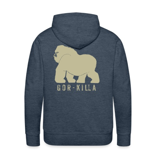 Gor-Killa - Felpa con cappuccio premium da uomo