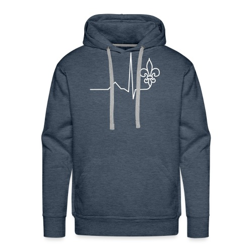 Scouts Heartbeat - Männer Premium Hoodie