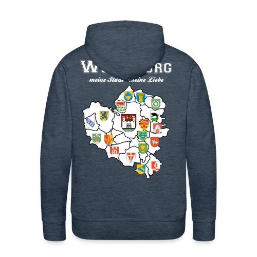 Wolfsburgs Stadtteile - Männer Premium Hoodie