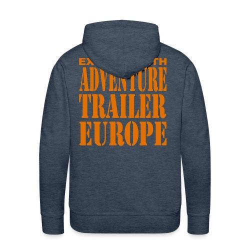 ADVENTURE TRAILER EUROPE - Mannen Premium hoodie