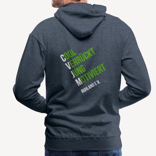 Logo © CVJM Ruhland e.V. groß - Männer Premium Hoodie