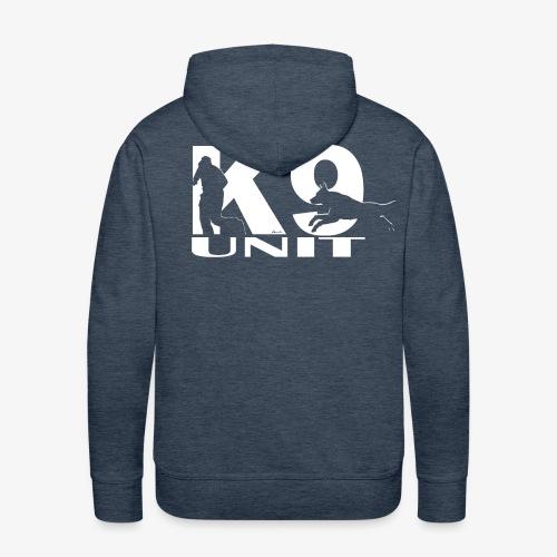 K9 unit white - Men's Premium Hoodie